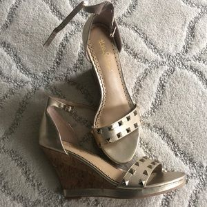 039e7b0348 Lilly Pulitzer Studded Wedge Sandal 8.5